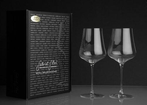 Gabriel Wine Glass Gold