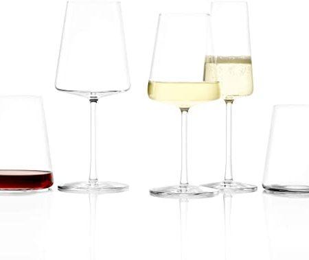Power Wine Glasses