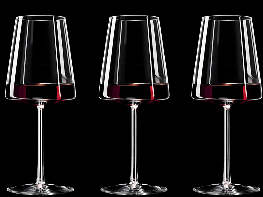 Power Red Wine Glasses
