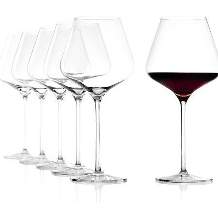 Stölzle-Quatrophil-Burgundy-Wine-Glass