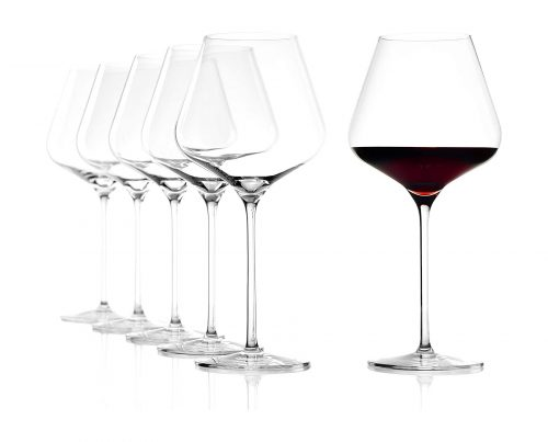 Burgundy Wine Glasses