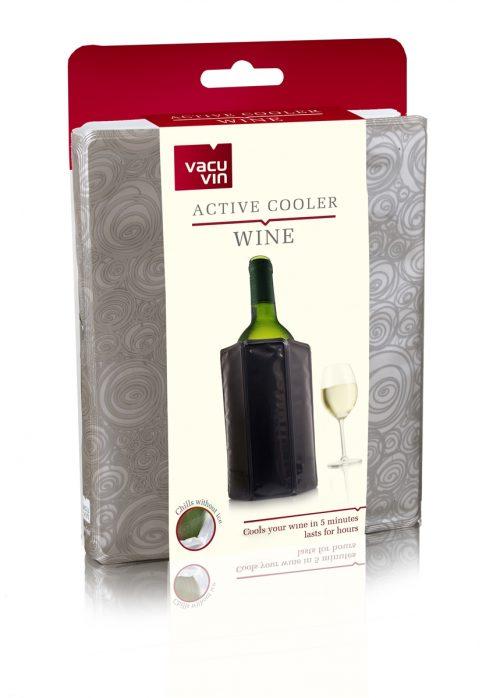 Vacu Vin Active Wine Cooler Sleeve Platinum