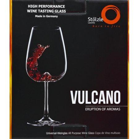Vulcano Wine Tasting Glasses