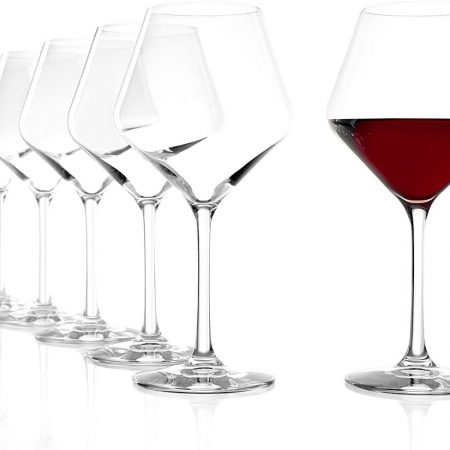 Revolution Burgundy Red Wine Glasses