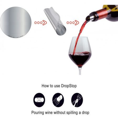 How to Use the Drop Stop Pourer